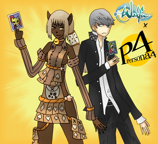 Wakfu x Persona 4 by Melope