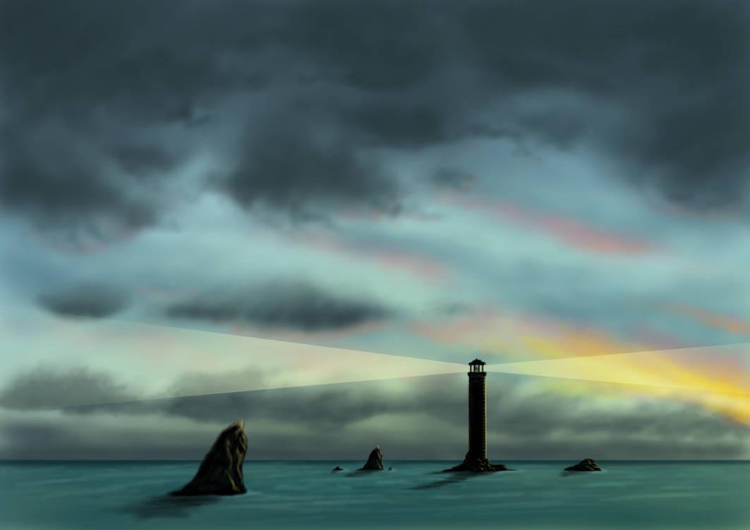 Sunset Sentinel by sketcher298