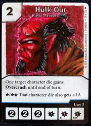 Hellboy custom art dice masters promo