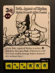Agent Bob, of Hydra - Dice masters promo card