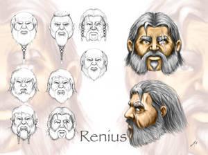 Renius Concept Head Shots