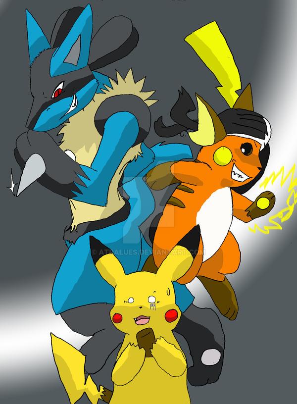 Evil Pikachu And Ash death to ash's pikachu...