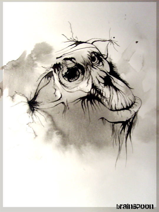 Abstract animal by Karpovva
