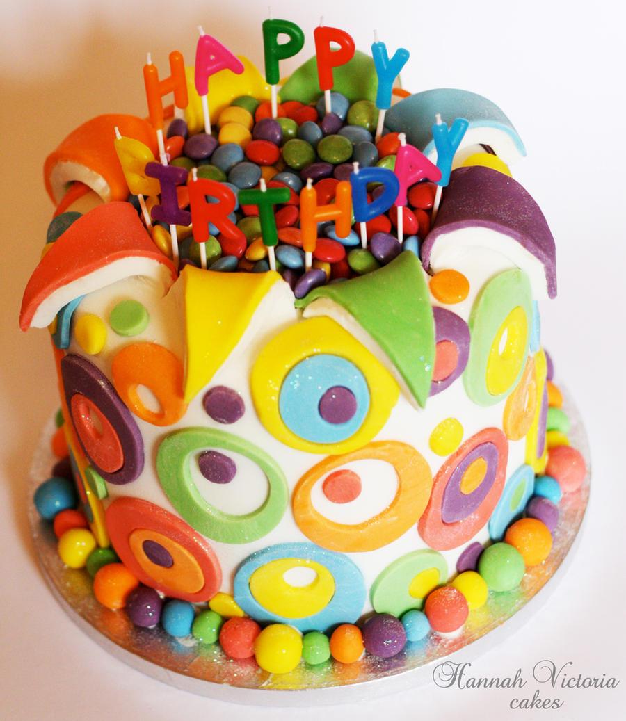 Happy Birthday Mary Chocolate Cake