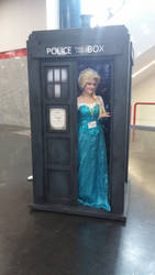 The Ice Queen Has The TARDIS by breathing-dreams