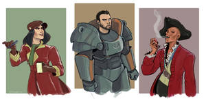 Fallout 4 Companions by annavigorito