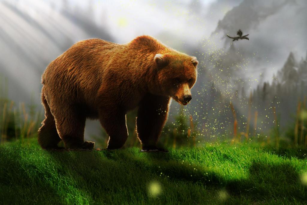 Skyrim Bear by SlimShady570