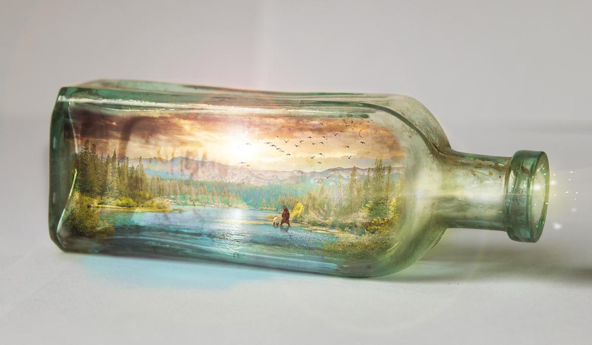 Bottled nature by SlimShady570