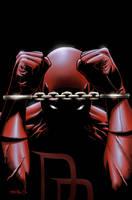 Daredevil cover colored