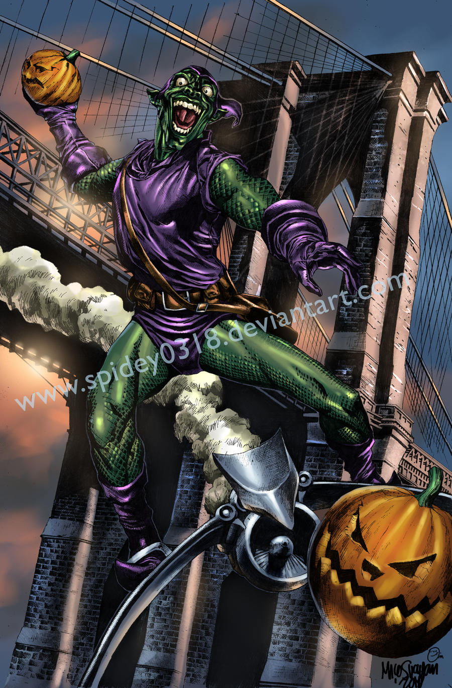 Green Goblin by spidey0318