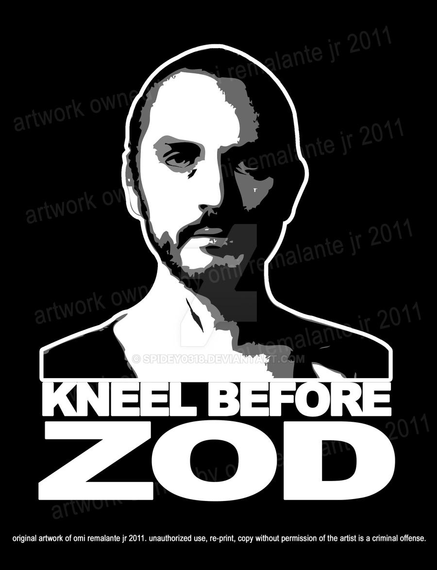 Zod shirt design