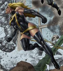 avengers sneak peek: MM by spidey0318