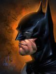 Batman portrait by Whilce Portacio
