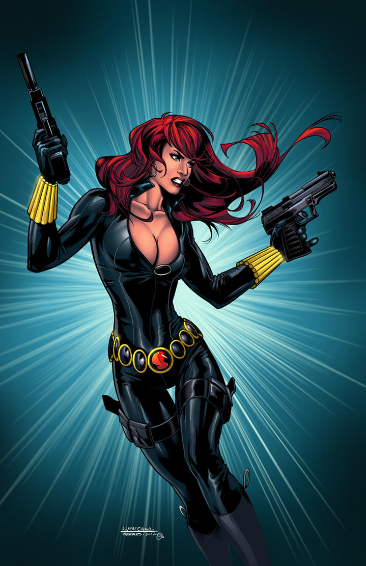 Black Widow Colors By Spidey0318 On DeviantArt