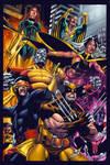 Classic X-men pin up