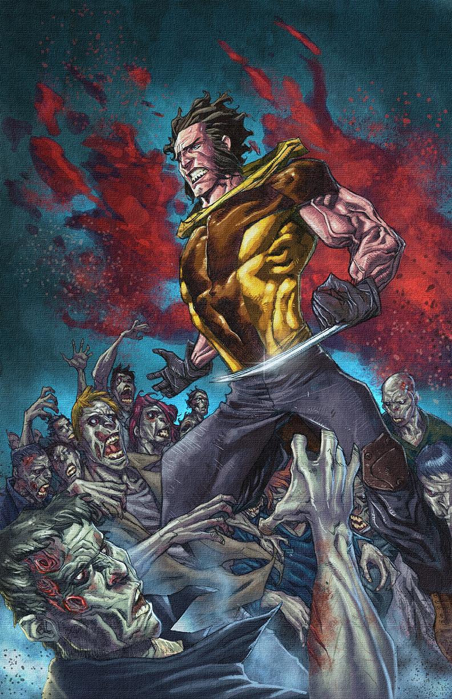 World War Wolverine Z by spidey0318