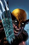 Incredible Hulk #340 cover re-creation