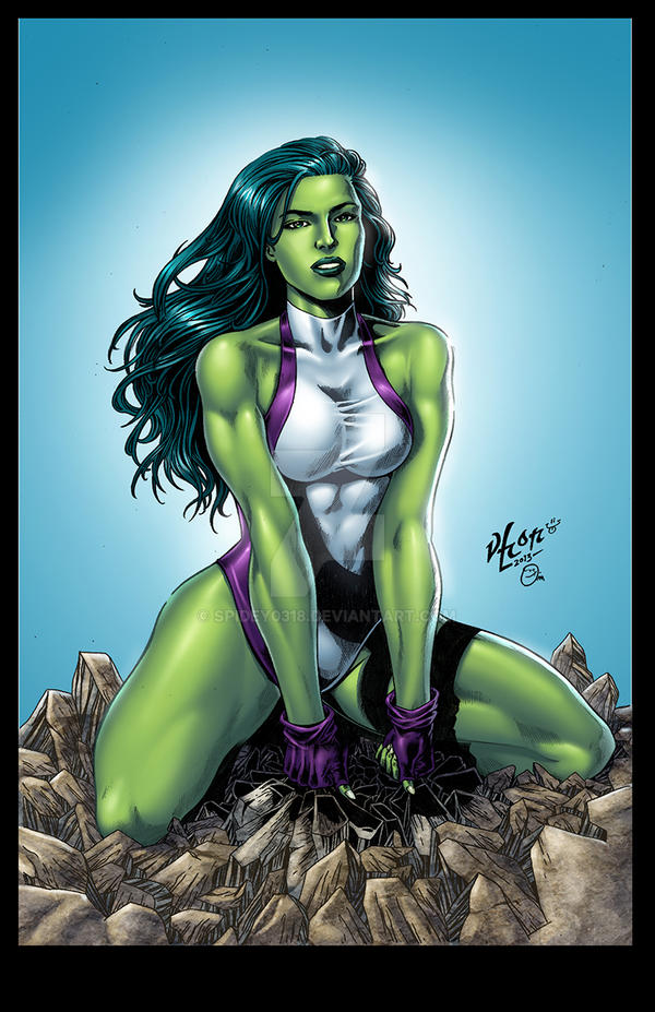 She-Hulk Vhon Omi colors small by spidey0318