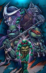 TMNT poster colored