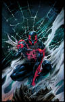 Spider-Man 2099 colors