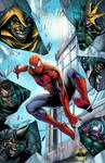 Spider-Man vs Sinister Six - colored