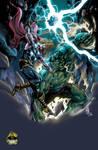 HulkVSThor colors