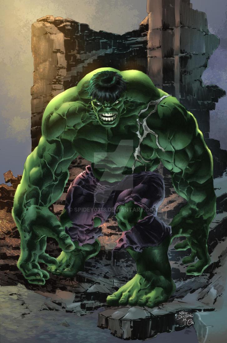Incredible Hulk by spidey0318 on DeviantArt