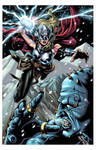 Thor vs Frost Giant colors