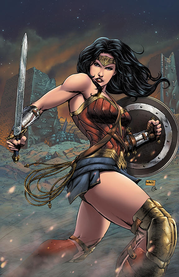 Wonder Woman - colored