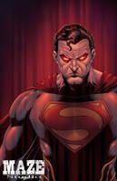 Rage of Superman by spidey0318