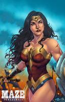 Diana, the Amazon princess by spidey0318