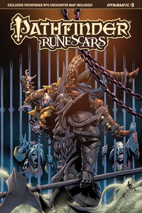 Pathfinder Runescars #3 cover by spidey0318