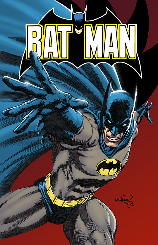 Classic 80's Batman Colors by spidey0318