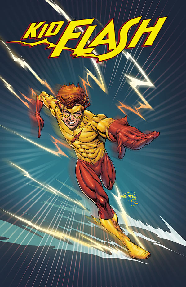 Kid Flash by spidey0318