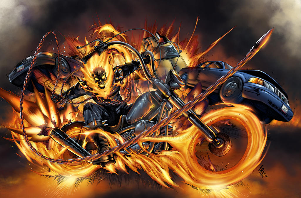 Ghost Rider Vengeance by spidey0318