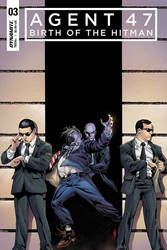 Agent47: Birth of the Hitman #3 cover by spidey0318