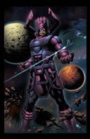 Galactus Devourer of Worlds by spidey0318