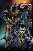 Batman Villains - Colors by spidey0318