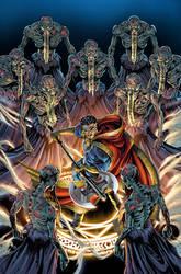 Dr. Strange vs the mystic zombies