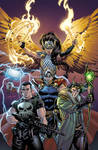 War of the Realms Omega #1 variant cover