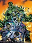Hulk Transfomation Colors