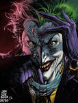 Joker jim lee colors