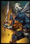 Marvel Comics Taskmaster colors