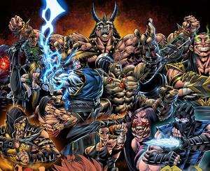 Mortal Kombat - colors
