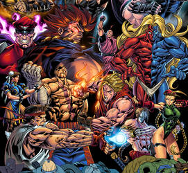 Street Fighter - colors
