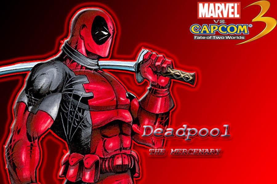 deadpool wallpaper. MVC 3 Deadpool wallpaper by