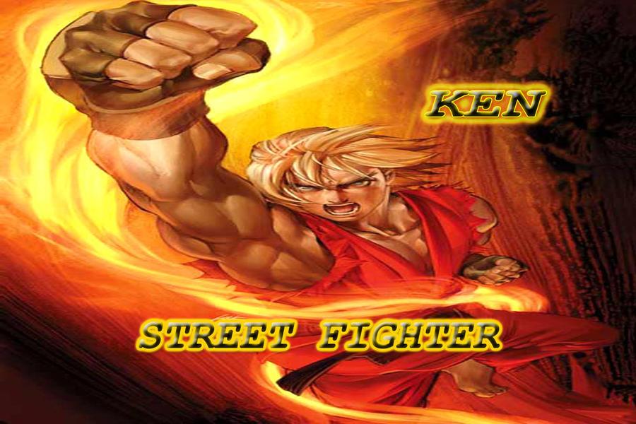 Street Fighter Ken Wallpaper By Chey2011senior