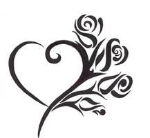 Rose Heart by writeitdown2908
