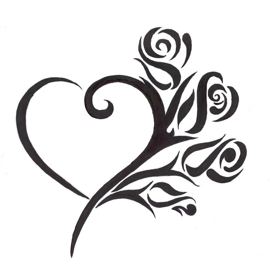 Rose Heart by writeitdown2908 on DeviantArt