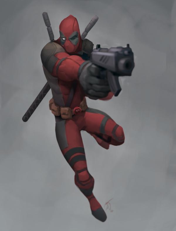 Captain Deadpool by Corey-Smith